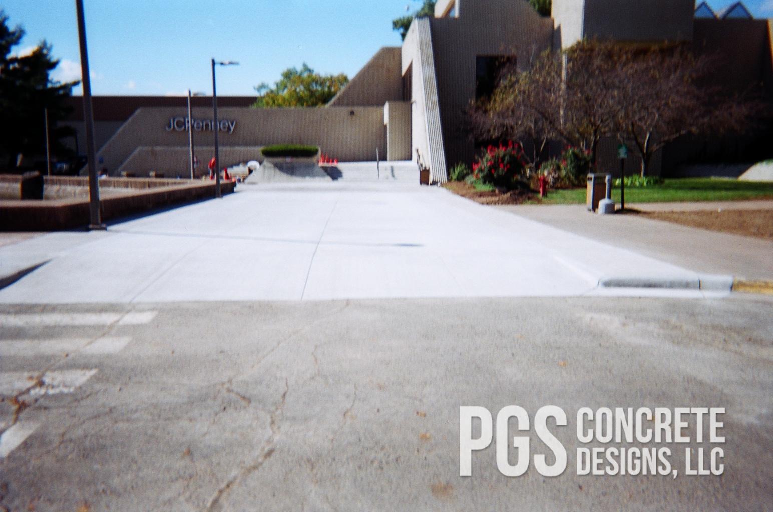 JC Penney Concrete